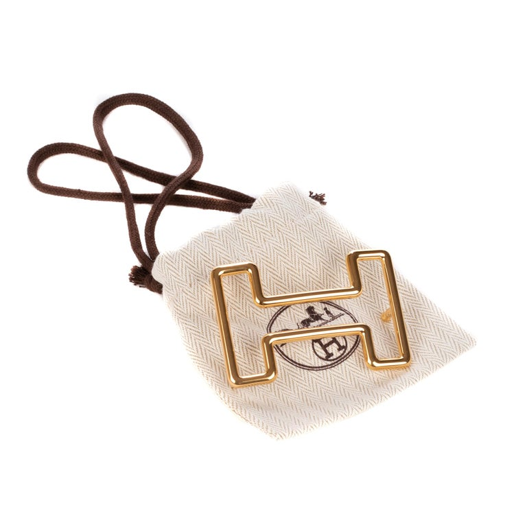 Brand new Hermès belt buckle model