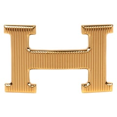 Brand new Hermes Calandre Gold Belt Buckle  !