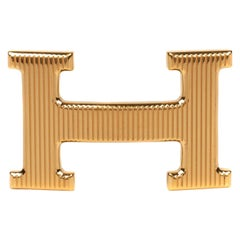 Brand new Hermes Calandre Gold Buckle Golden !