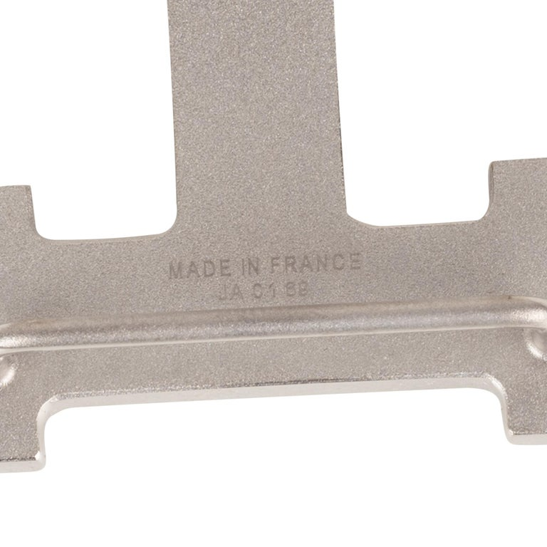 Brand new Hermes Constance brushed silver Belt Buckle ! For Sale 1