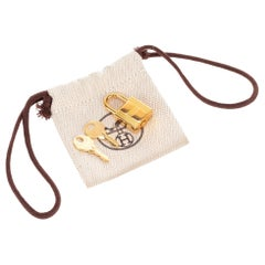 BRAND NEW Hermès Padlock in gold plated for Birkin or Kelly handbags !