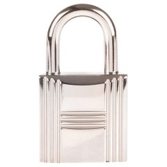 BRAND NEW Hermès Padlock in Palladium Silver for Birkin & Kelly !