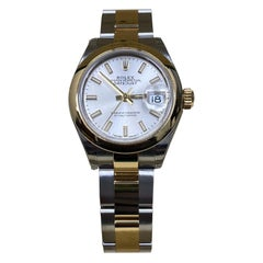 Brand New Ladies Datejust 279163 18 Karat Yellow Gold and Steel Box and Papers