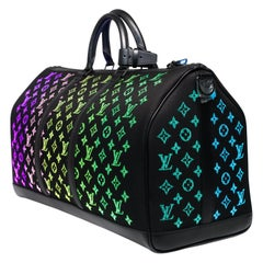BRAND NEW-Limited edition Louis Vuitton keepall 50 Light Up virgil abloh fw19
