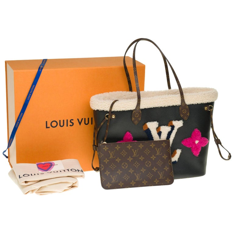 BRAND NEW Limited Edition Louis Vuitton Neverfull MM Teddy Tote For Sale