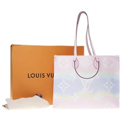BRAND NEW Limited Edition Louis Vuitton Onthego Escale Pastel handbag