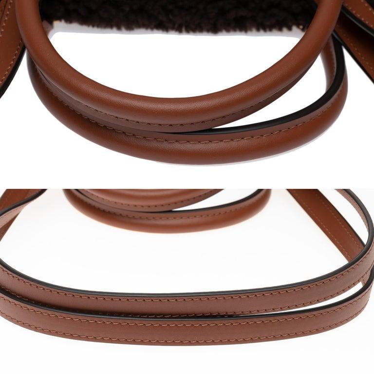 BRAND NEW Limited Edition Louis Vuitton Onthego Teddy Fleece handbag For Sale 4