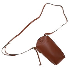 "Brand New Loewe Bucket ""Gate"" shoulder bag in gold calfskin"