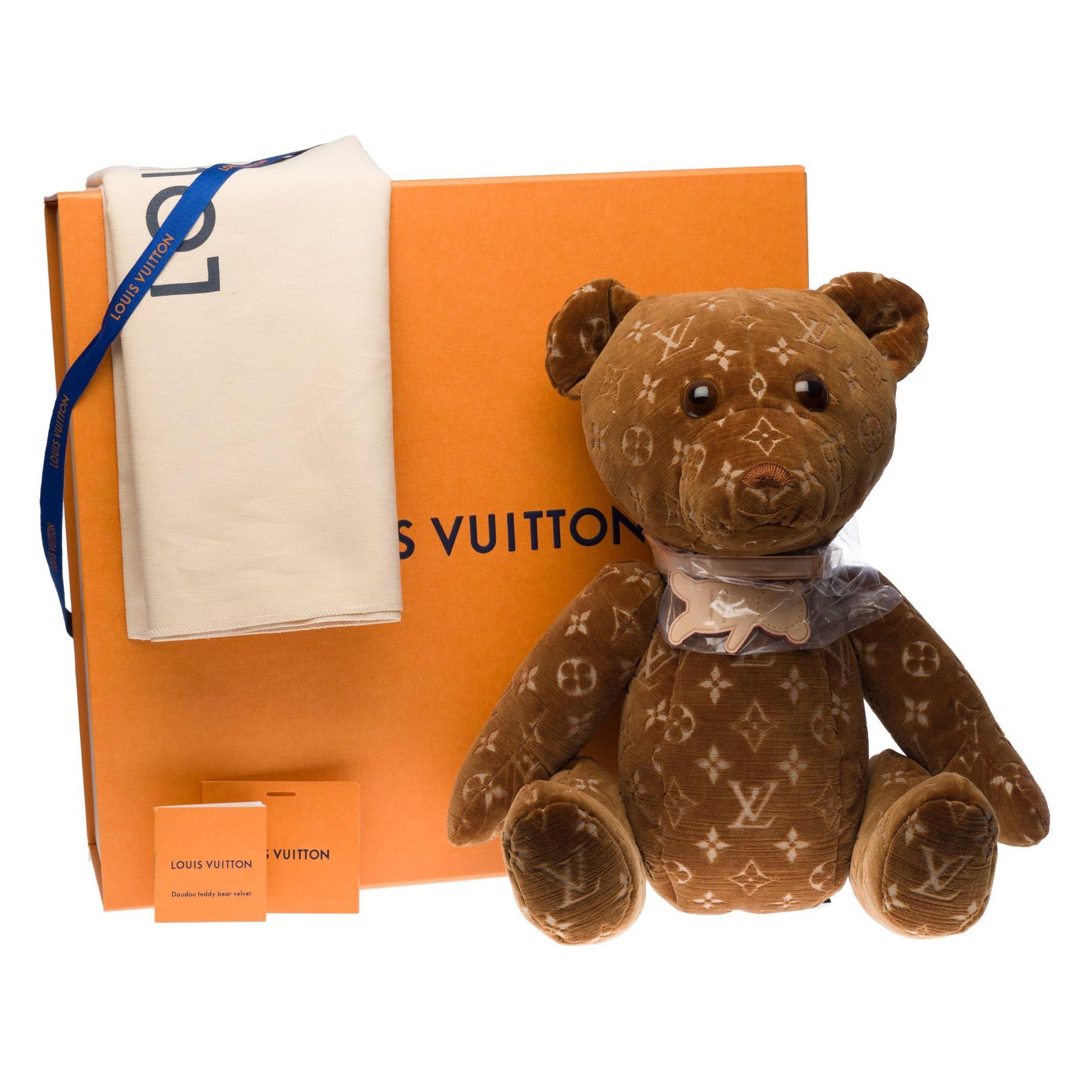 Brand New  Louis Vuitton Collectible Teddy Bear DouDou