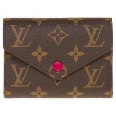 Brand New Louis Vuitton Victorine Wallet in monogram canvas