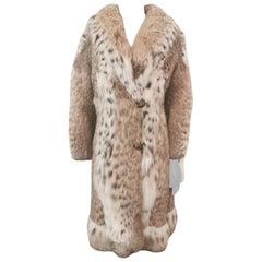 Brand new Vintage lynx fur coat size 4-6