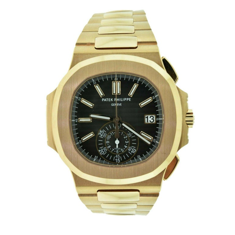 Patek Philippe Nautilus 5980/1R-001 Rose Gold Box and Papers 'P-6' 2