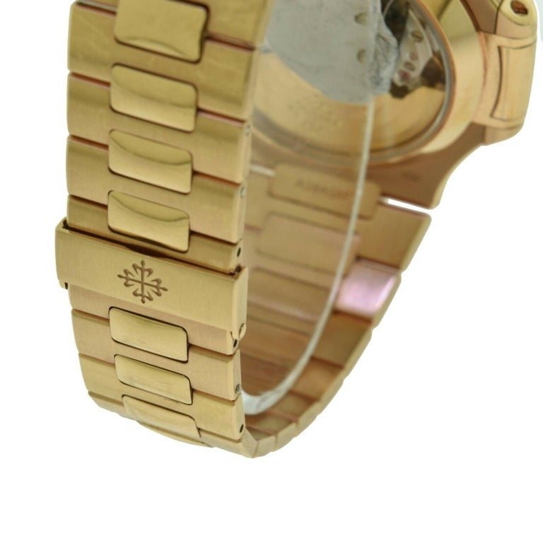 Brand New Patek Philippe Nautilus 5980/1R-001 Rose Gold with Box 'P-20' 1