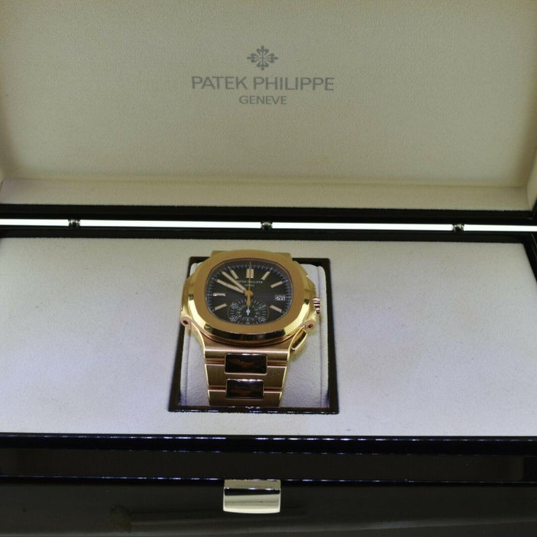 Brand New Patek Philippe Nautilus 5980/1R-001 Rose Gold with Box 'P-20' 2