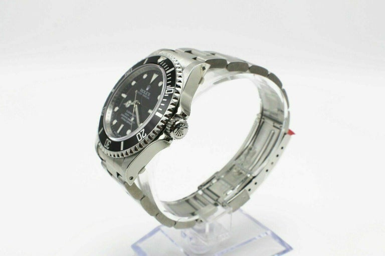 Rolex Submariner 14060 Black Dial Stainless Box Papers Stickers Bnos 1
