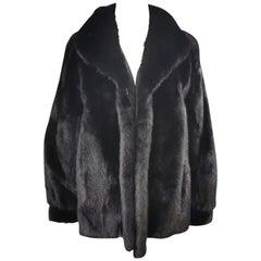 Brand new Saga mink fur coat size 12