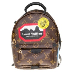 Brand New-Sold Out- Louis Vuitton Palm Springs Mini Backpack My LV World Tour