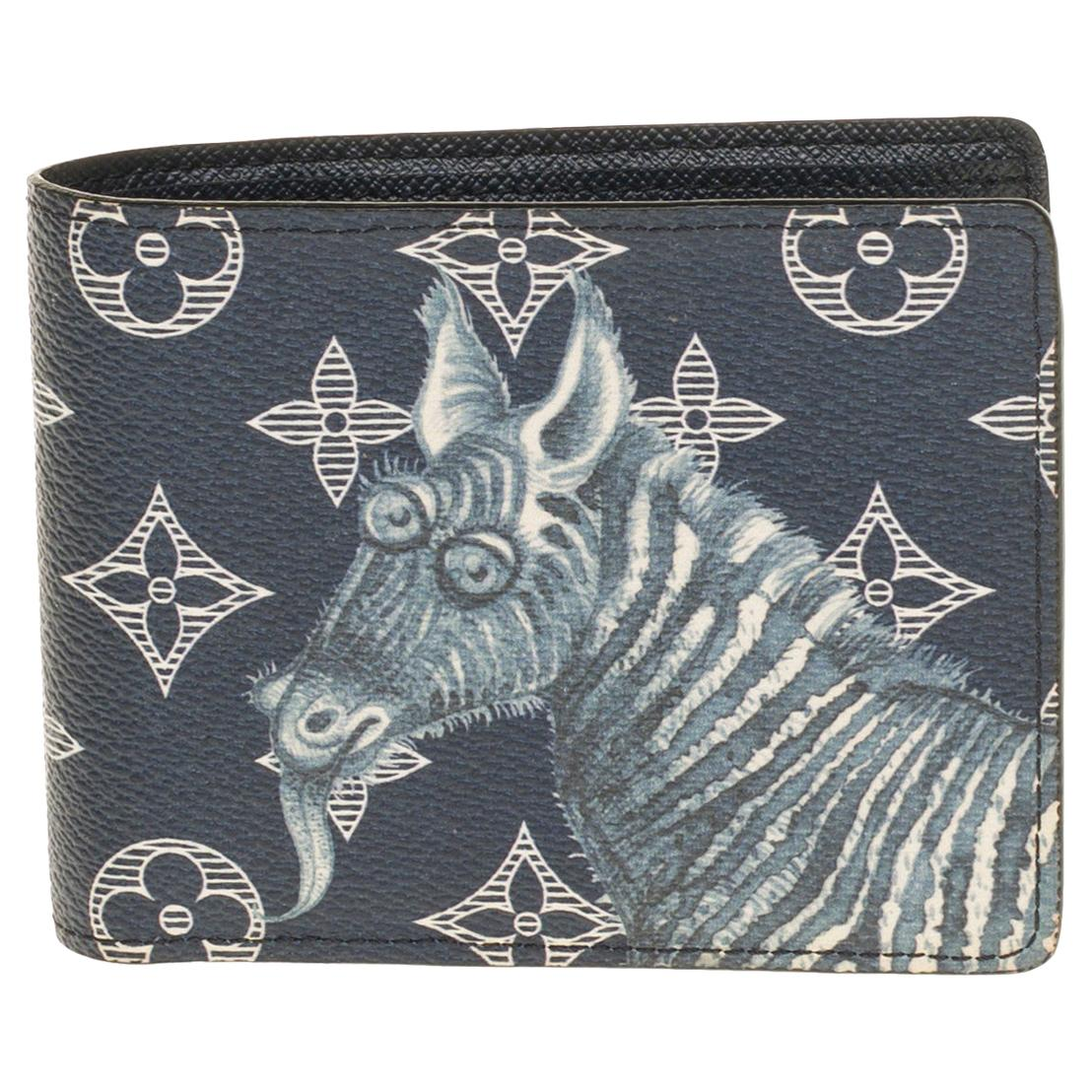 """Brand new- Ultra limited Chapman Brothers """"Zebra"""" Wallet in black and white"""
