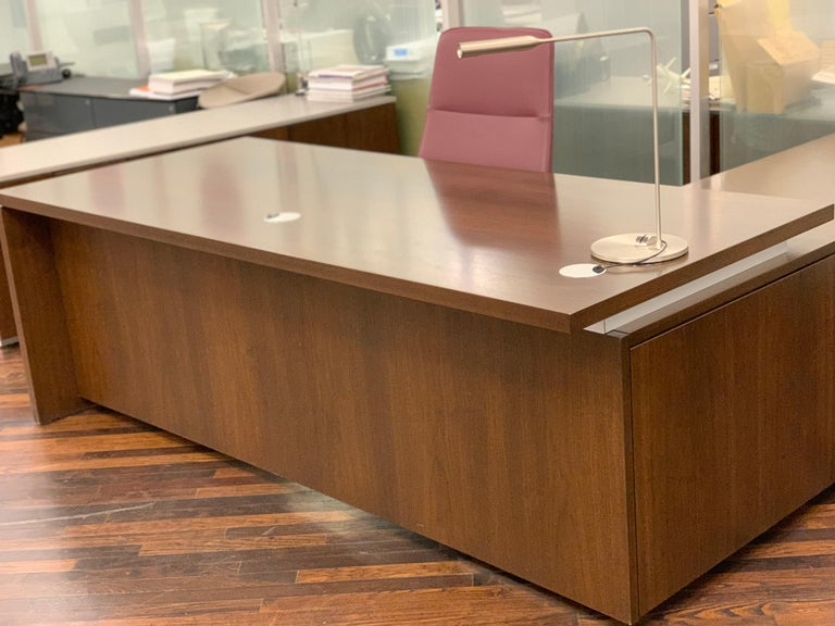 Contemporary Brand Wood Desk For Sale