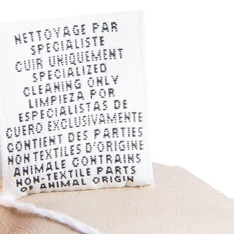 NEW Hermès Paris Suede Leather Shift Dress For Sale 3