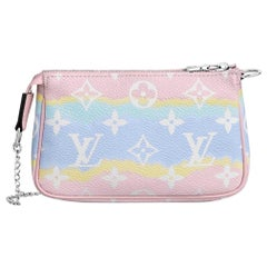 Brandnew Limited Edition 2020 Louis Vuitton Pastels Escale Pochette Mini