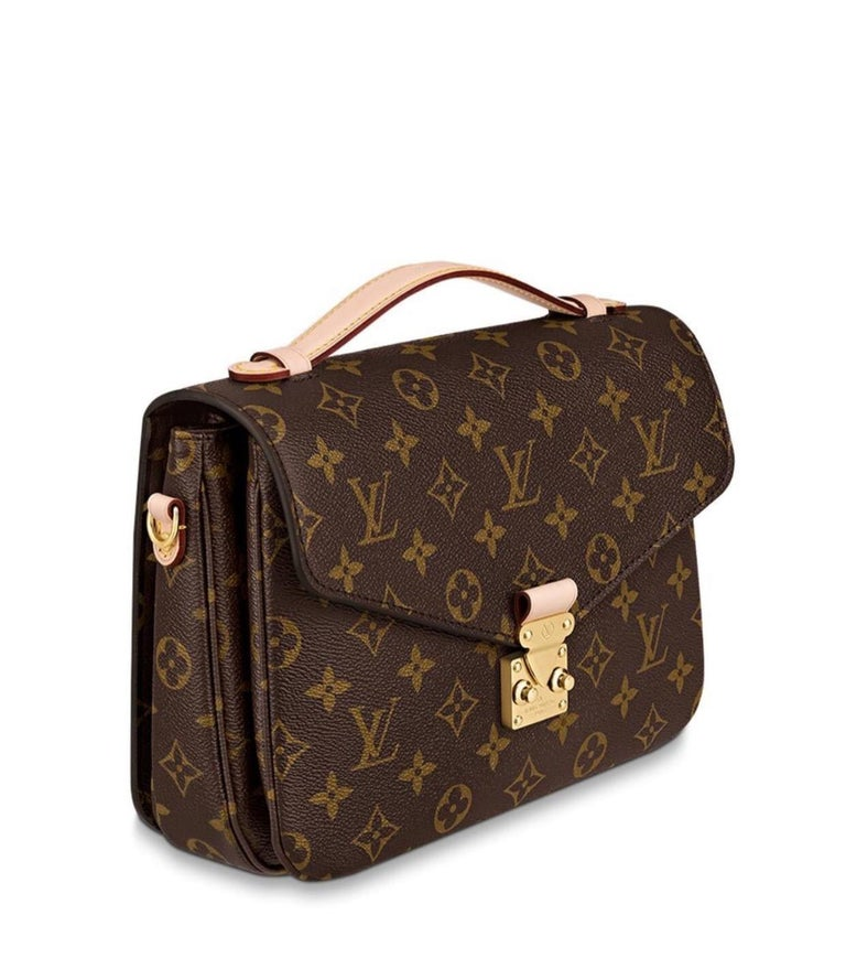 Brandnew Louis Vuitton Pochette METIS  This bag is fresh from the store and comes in brandnew, unused condition and dustbag.  Sold out for months and available with months-long waiting list  Elegance is personified in the petite shape of the