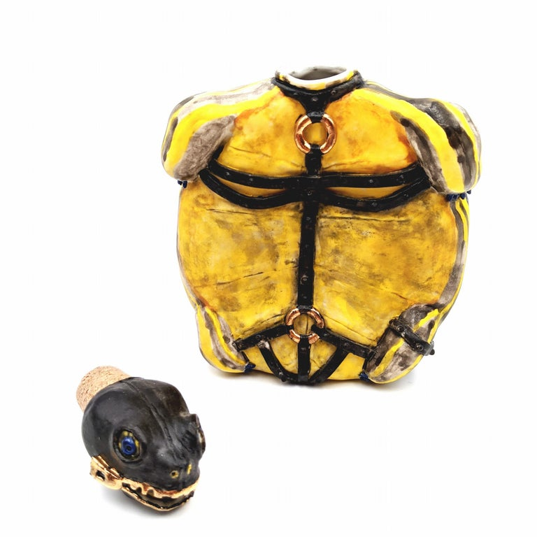 Yours For The Taking Turtle Flask For Sale 2