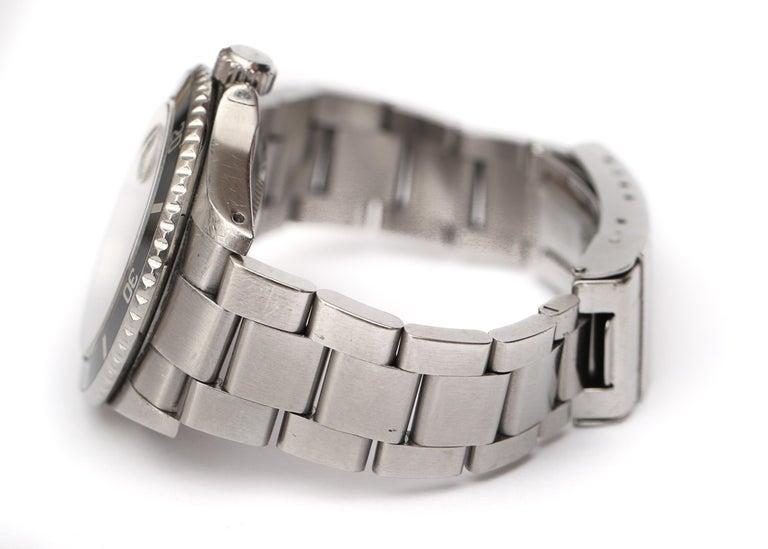 Brandon Webb Rolex Submariner Diver's Wristwatch In Good Condition For Sale In Hicksville, NY