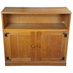 Brandt Ranch Oak Double Cabinet #1891N-8 Bookcase Console TV Stand Shelf