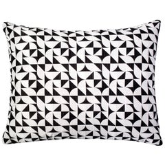 Brasilia Pattern Cushion Curvature Collection Inspired Brazilian Architecture