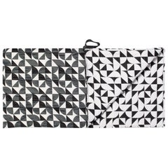 Brasilia Reversible Throw Curvature Collection Brazilian Inspired Pattern