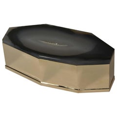 Brass and Agate Box