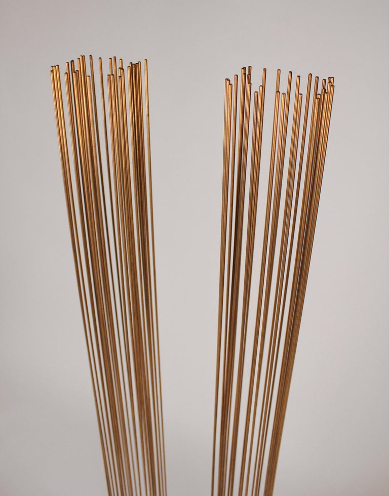Brass and Beryllium Copper Sonambinet Sounding Sculpture by Val Bertoia For Sale 2