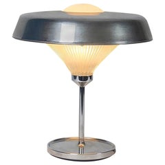 """Brass and Glass """"Ro"""" Table Lamp by Studio BBPR for Artemide, 1962"""