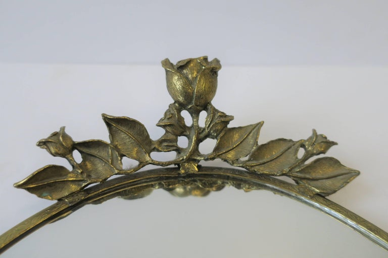 Brass and Mirror Vanity Tray, ca. 1960s For Sale 10