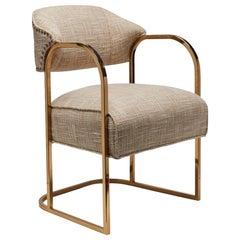 Brass Armchair