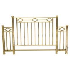 Brass Art Deco Sideboard Mid-Century Modern