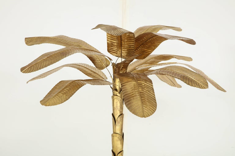 20th Century Brass Banana Tree For Sale