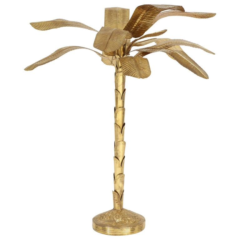Brass Banana Tree For Sale