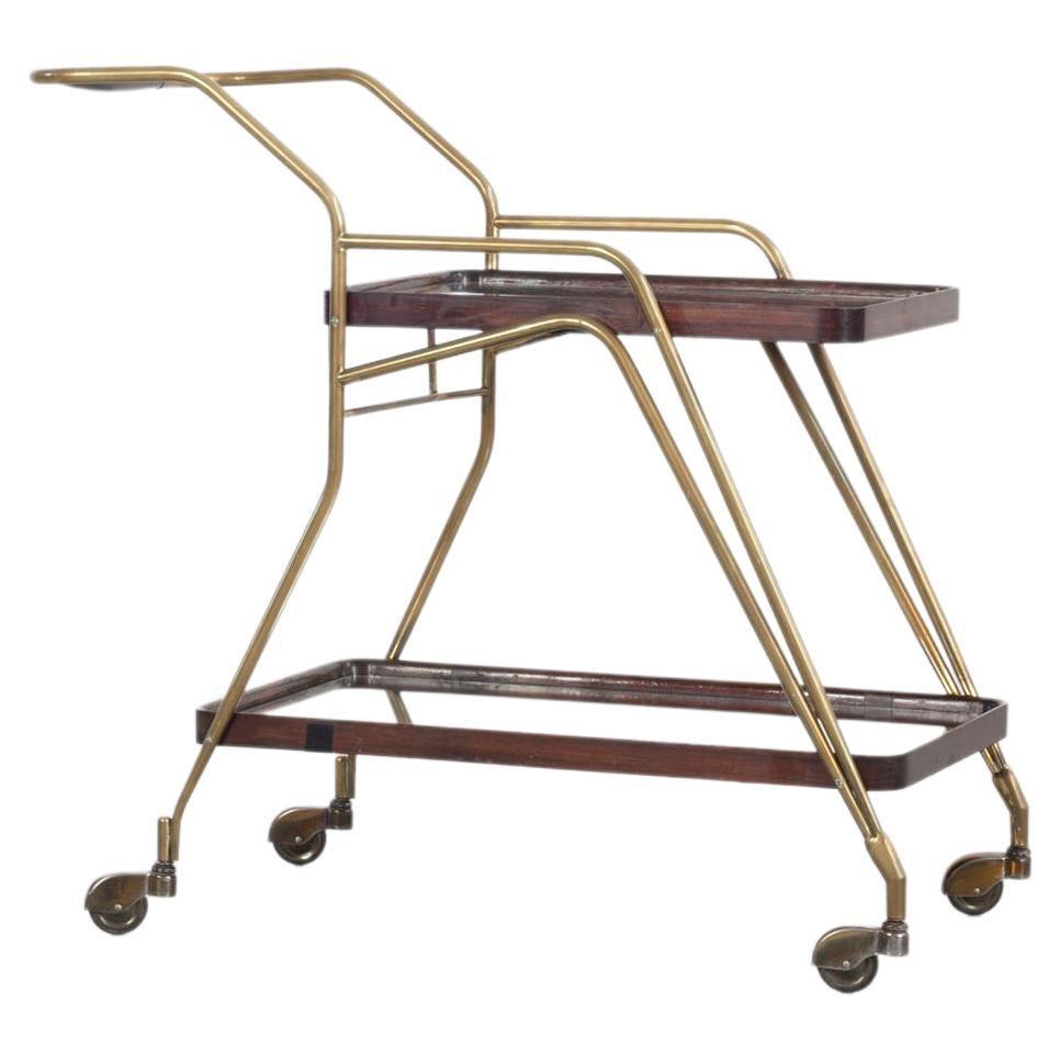 Brass Bar Trolley, Italy 1950s