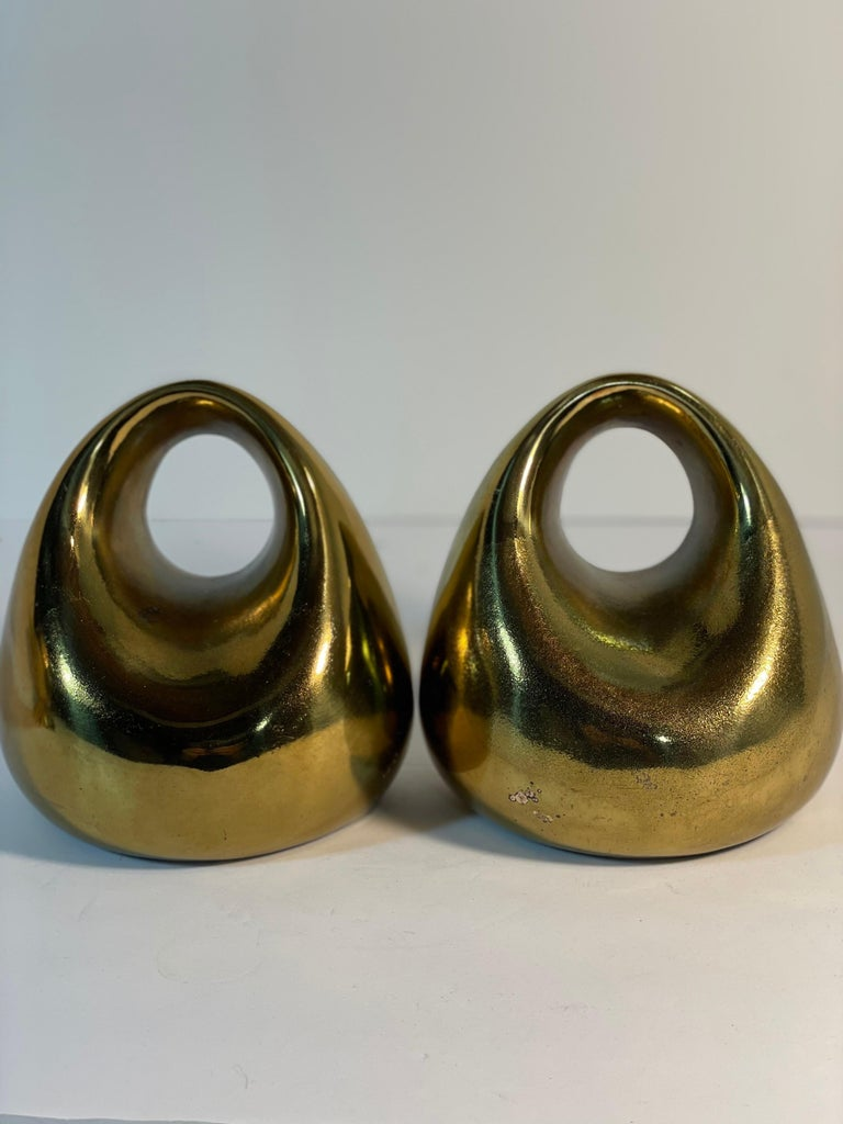 Brass Ben Seibel Bookends In Good Condition In New York, NY
