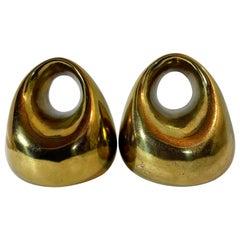 Brass Ben Seibel Bookends
