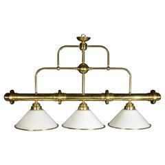 Brass Billiard Light