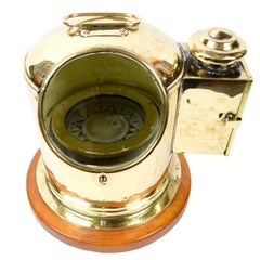 Brass Binnacle for Lifeboat, 1920s