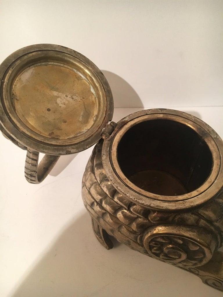 Brass Bird Stash Box For Sale 2