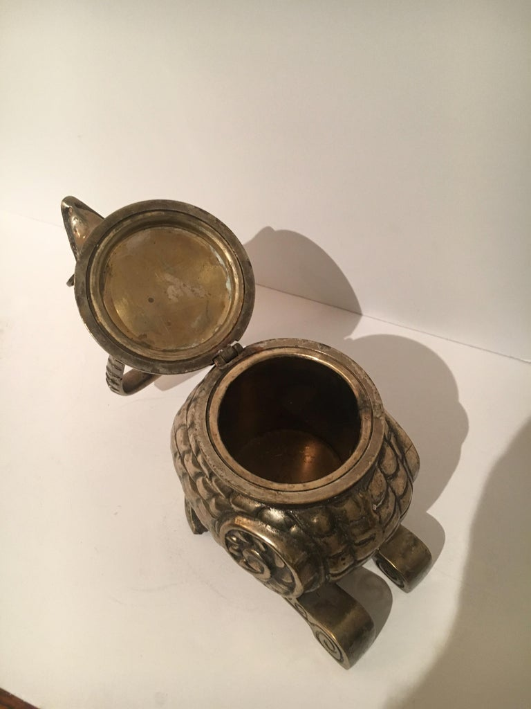 Brass Bird Stash Box For Sale 3