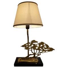 Brass Bonsai Table Lamp, 1970s