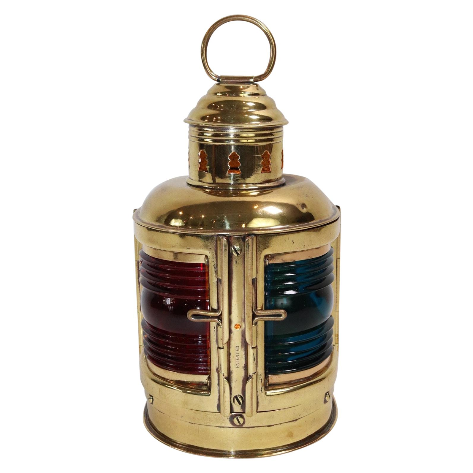 Brass Bow Lantern from Boat