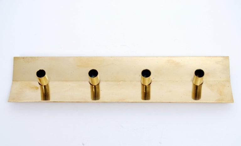Scandinavian Modern Brass Candleholder No. 69 by Pierre Forssell for Skultuna For Sale