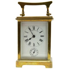 Brass Carriage Clock by J. E.Caldwell & Co.